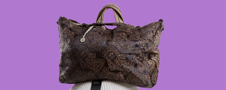 spring bags paisley fur half